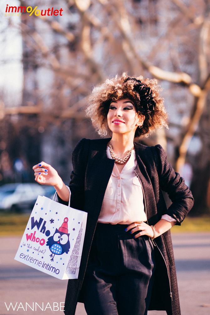 Wannabe fashion predlog Immo outlet center Wannabe blogger 29 Modni predlozi iz Immo Outlet Centra: Klasika u januaru