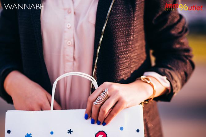 Wannabe fashion predlog Immo outlet center Wannabe blogger 34 Modni predlozi iz Immo Outlet Centra: Klasika u januaru
