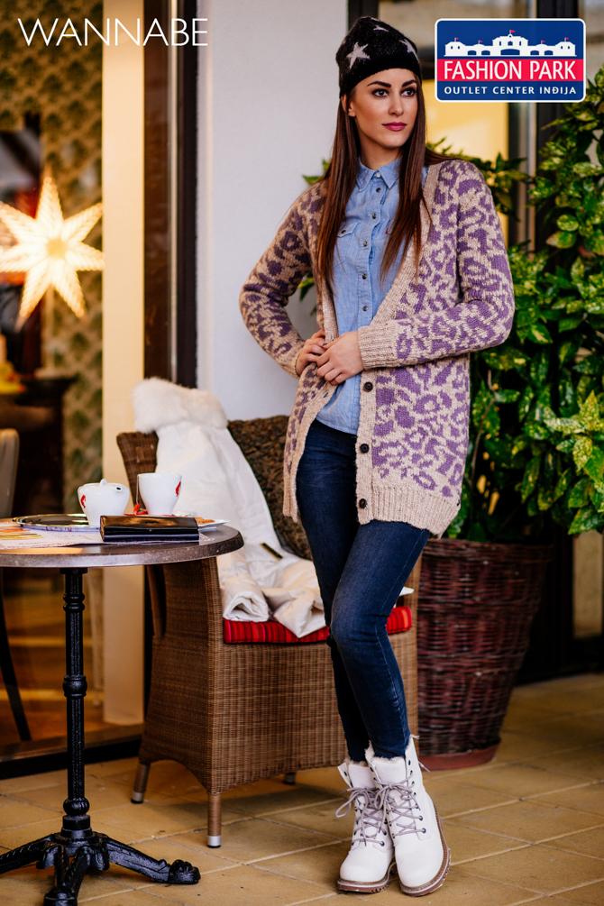 Wannabe fashion predlog outlet center Indjija 151 Fashion Park Outlet Centar modni predlog: Autfit za zimovanje