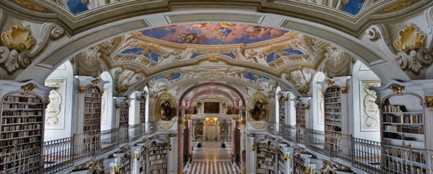 Najlepše biblioteke sveta: Admont Opatija, Austrija