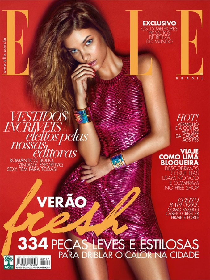 barbara palvin na naslovnici magazina elle brazil 1 Barbara Palvin na naslovnici magazina Elle Brazil