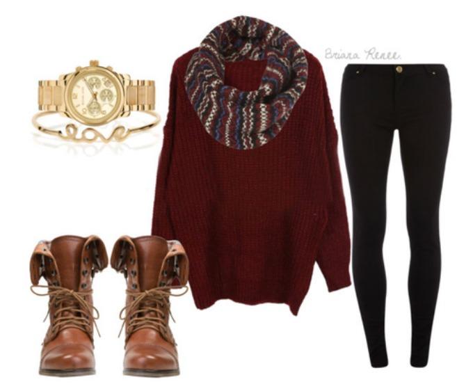 bordo dzemper1 Moda u januaru: Praktično i sa stilom
