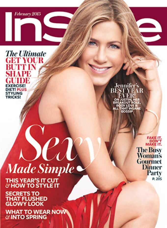 dzenifer eniston na naslovnici magazina instyle 1 Dženifer Eniston na naslovnici magazina InStyle