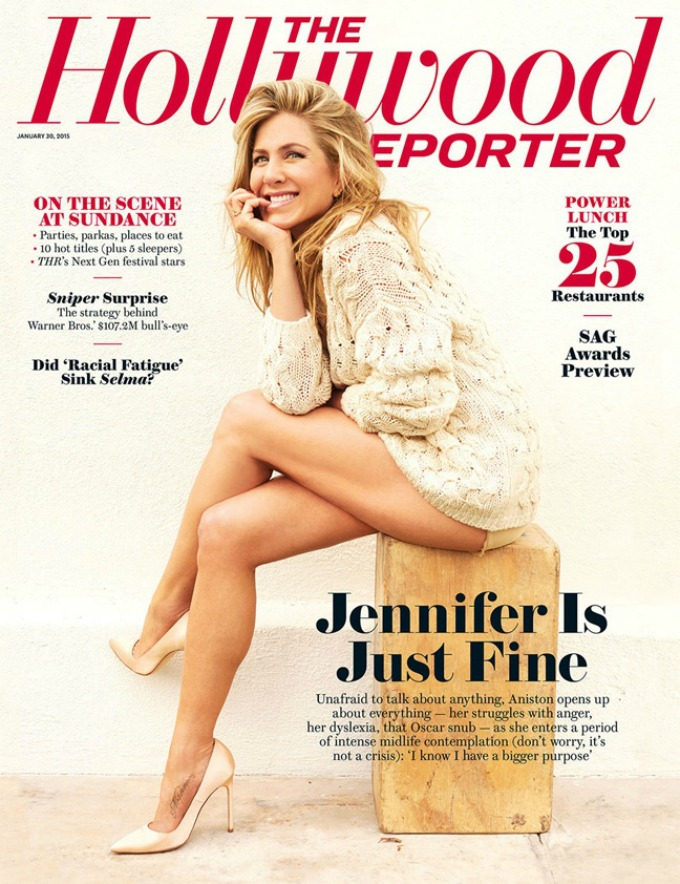 dzenifer eniston za magazin the hollywood reporter 1 Dženifer Eniston za magazin The Hollywood Reporter