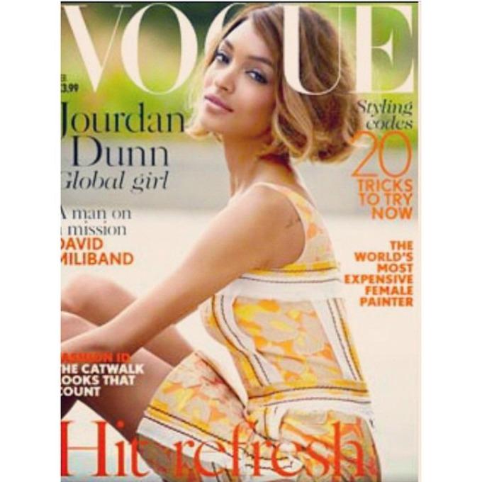 dzordan dun na naslovnici magazina vogue uk 1 Džordan Dun na naslovnici magazina Vogue UK