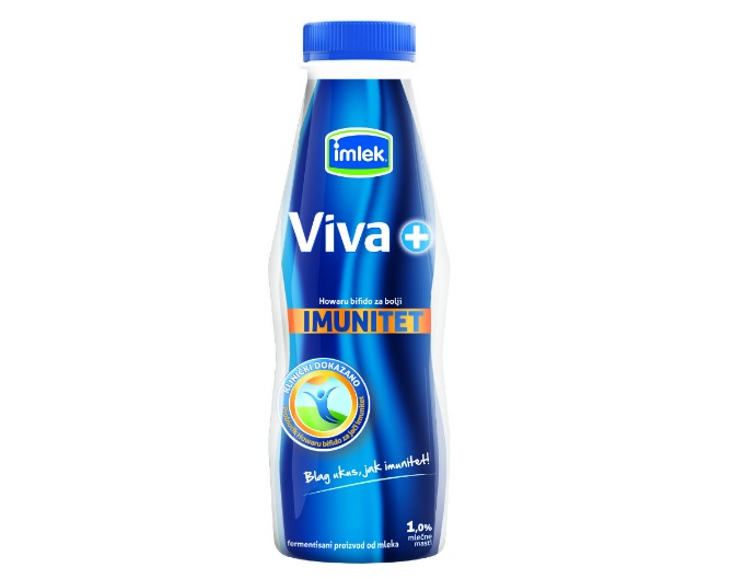 jogurt viva plus Ojačaj imunitet u jednom potezu!