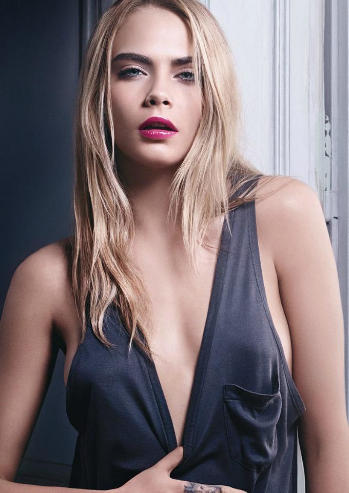 kara delevinj za ysl beauty 3 Kara Delevinj za YSL Beauty
