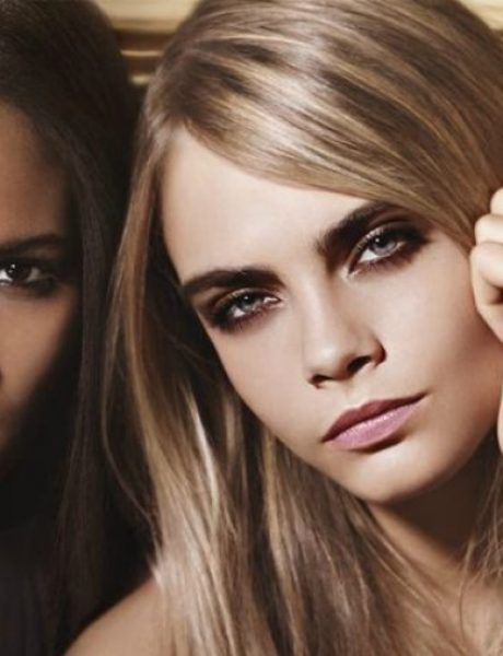 Kara Delevinj za YSL Beauty