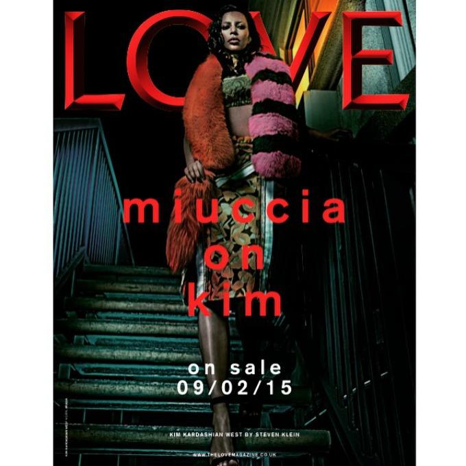 kim kardasijan za magazin love 1 Kim Kardašijan za magazin Love