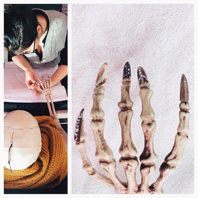 kostur manikir I kostur ima svoj nalog na Instagramu