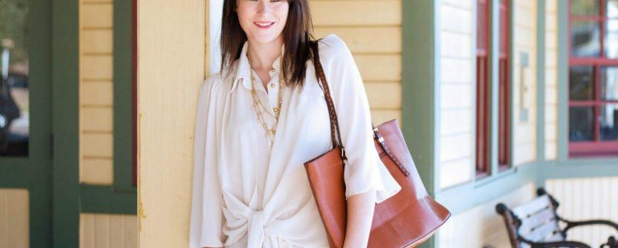 Vodič kroz poslovni stil: Providna bluza