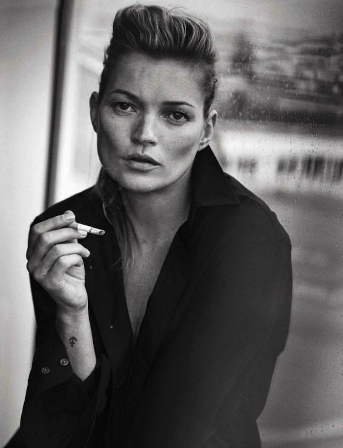 potpuno prirodna kejt mos za vogue italia 2 Potpuno prirodna Kejt Mos za Vogue Italia