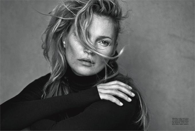 potpuno prirodna kejt mos za vogue italia 3 Potpuno prirodna Kejt Mos za Vogue Italia