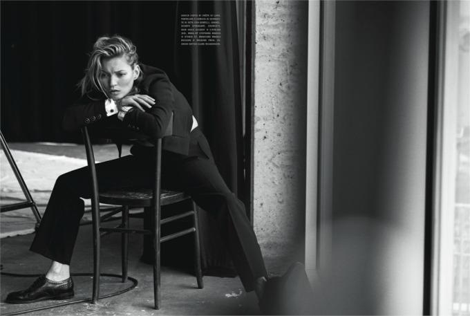 potpuno prirodna kejt mos za vogue italia 5 Potpuno prirodna Kejt Mos za Vogue Italia