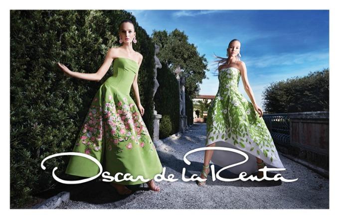 prolecna kampanja brenda oscar de la renta 1 Prolećna kampanja brenda Oscar de la Renta