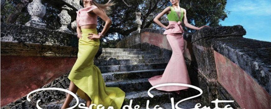 Prolećna kampanja brenda Oscar de la Renta