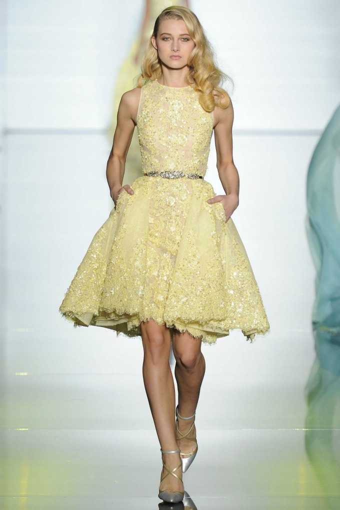 revija brenda zuhair murad 5 Paris Haute Couture Fashion Week: Revija brenda Zuhair Murad