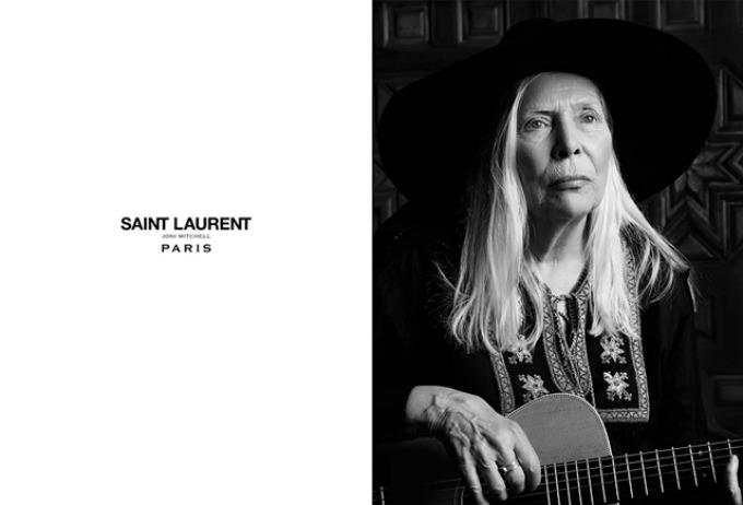 sedamdesetogodisnjakinja u kampanji brenda saint laurent 1 Sedamdesetogodišnjakinja u kampanji brenda Saint Laurent