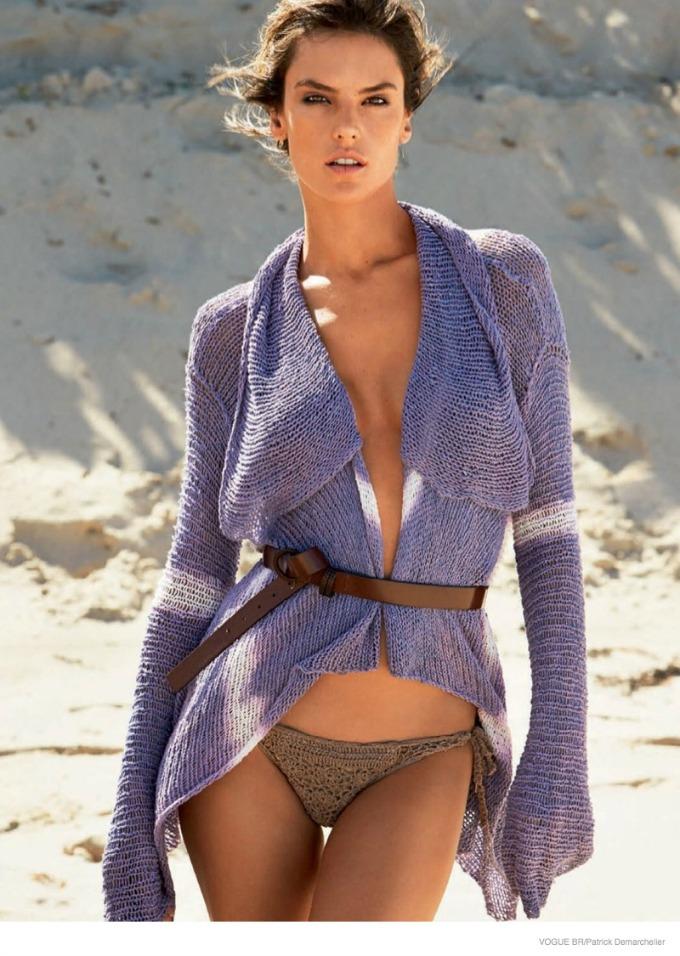 seksi alesandra ambrosio za vogue brazil 6 Seksi Alesandra Ambrosio za Vogue Brazil