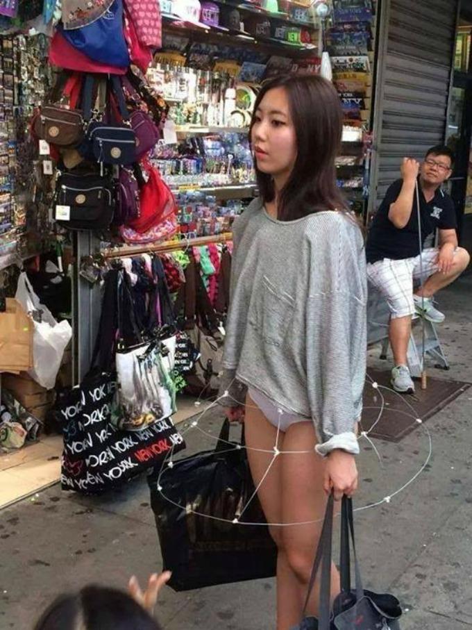suknja od zice Nova moda u Hong Kongu