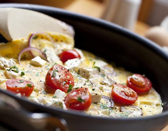 zdrav omlet Ideje za niskokalorični doručak