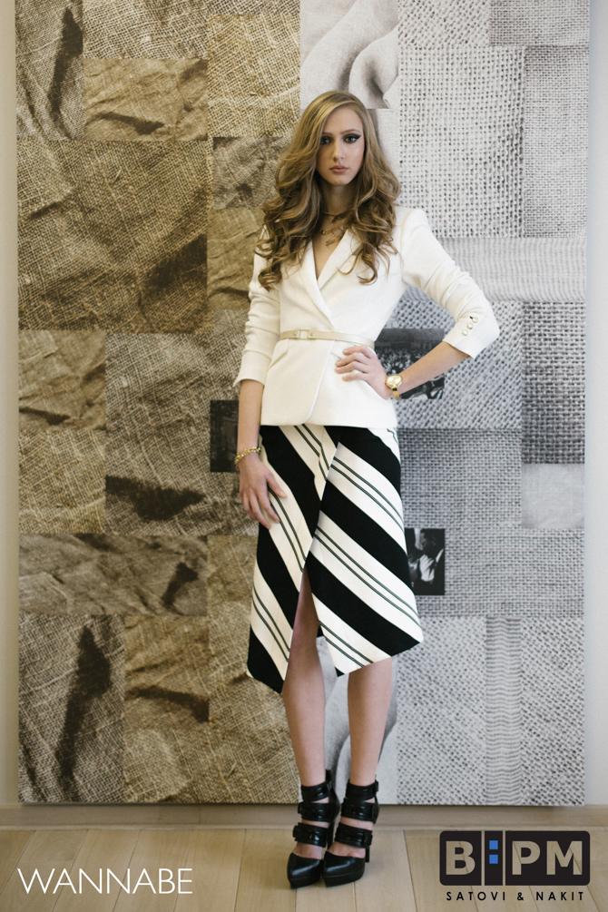 1 BPM modni predlog Wannabe magazine 2 BPM Watches modni predlog: Zlatni detalji i poslovni stil
