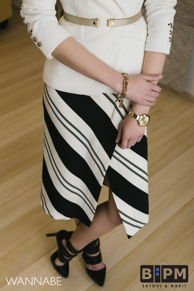 1 BPM modni predlog Wannabe magazine 7 BPM Watches modni predlog: Zlatni detalji i poslovni stil