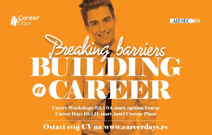 Career Days – sajam edukacija praksi i poslova po 21. put Career Days – sajam edukacija, praksi i poslova po 21. put