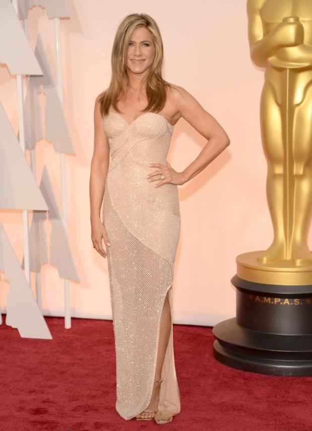 Dženifer Aniston Crveni tepih: Uživo sa dodele Oskara