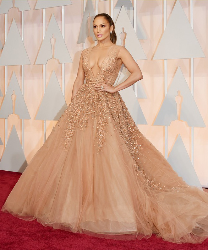 Dženifer Lopez Crveni tepih: Uživo sa dodele Oskara