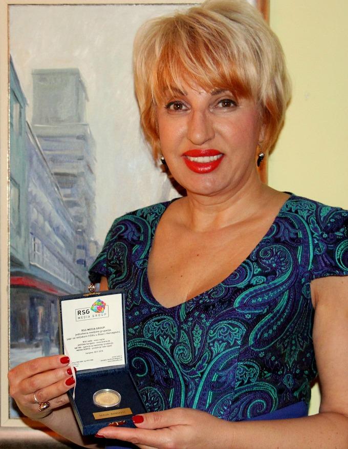 Maja Rakovic Naxi Maja Rakovic nagrađena za regionalnu medijsku saradnju
