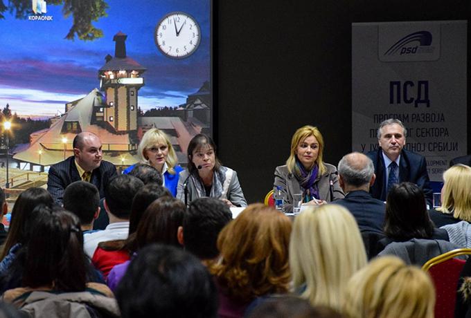 Program razvoja privatnog sektora u Jugoistocnoj Srbiji Kopaonik: Razvoj privatnog sektora u jugozapadnoj Srbiji