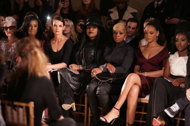 Rijana u publici Nedelja mode u Njujorku: Revija Zac Posen