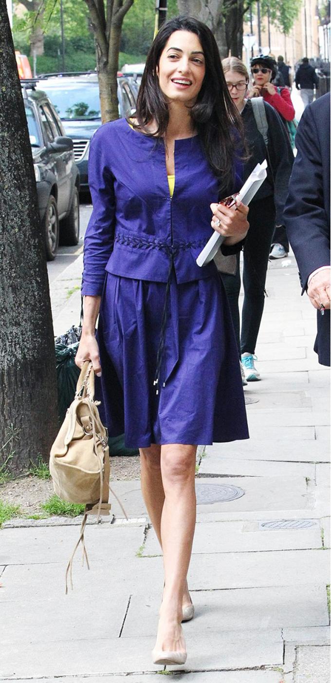 amal alamudin stil Nekad i sad: Stil Amal Kluni