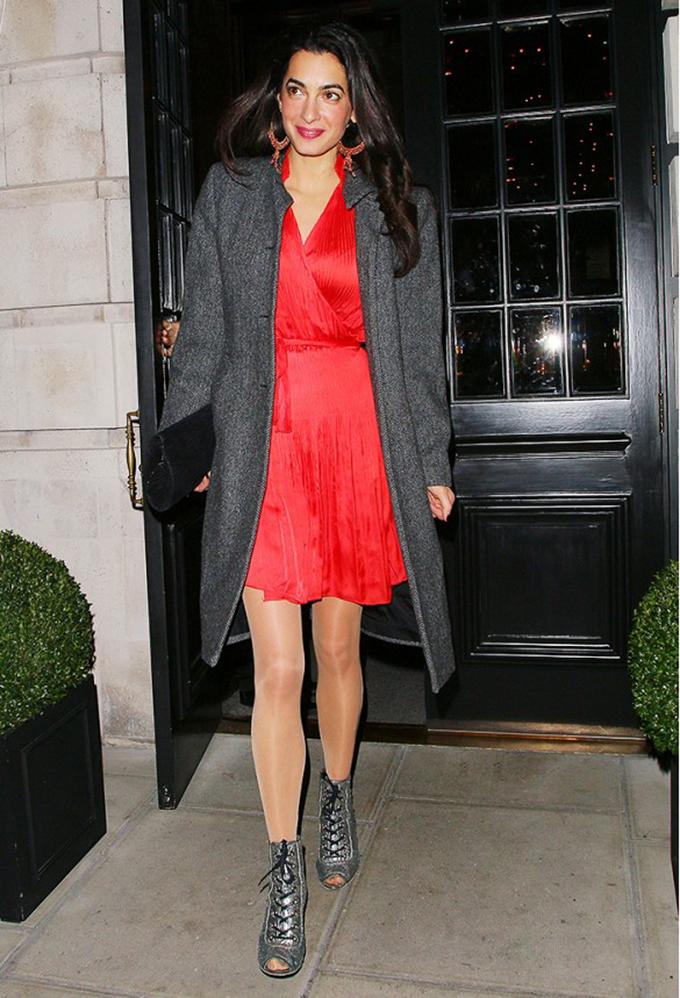 amal stil nekada Nekad i sad: Stil Amal Kluni
