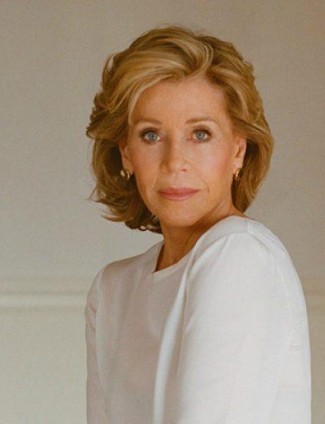 """Džejn Fonda u editorijalu magazina """"DuJour"""""""