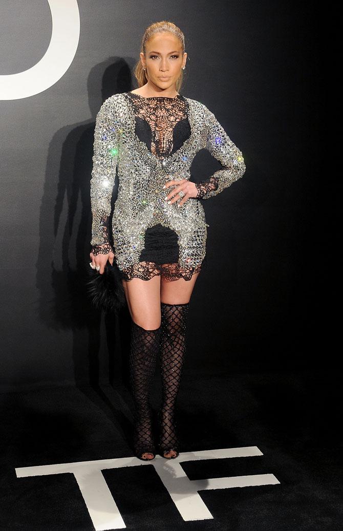dzenifer lopez Fashion Police: Poznati na reviji Toma Forda