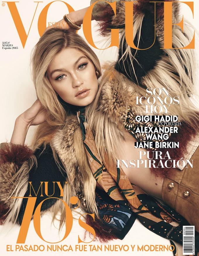 dzidzi hadid na naslovnici magazina vogue 1 Džidži Hadid na naslovnici magazina Vogue