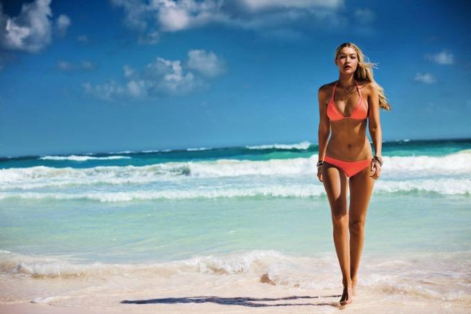 dzidzi hadid u seksi kampanji brenda seafolly 2 Džidži Hadid u seksi kampanji brenda Seafolly