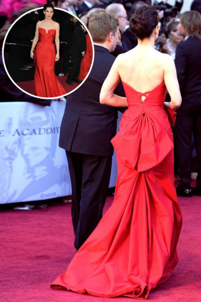 haljine sa crvenog tepiha koje lepse izgledaju otpozadi 5 Golišava leđa sa crvenog tepiha