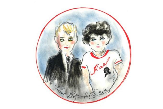 karl lagerfeld pokrece liniju odece za decu 2 Karl Lagerfeld pokreće liniju odeće za decu