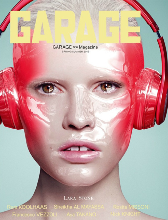 kendal dzener kao tech chic 2 Kendal Džener kao tech chic na naslovnici magazina Garage
