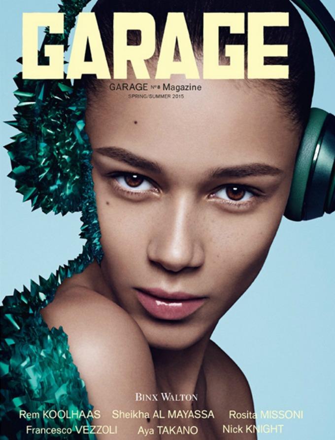 kendal dzener kao tech chic 3 Kendal Džener kao tech chic na naslovnici magazina Garage