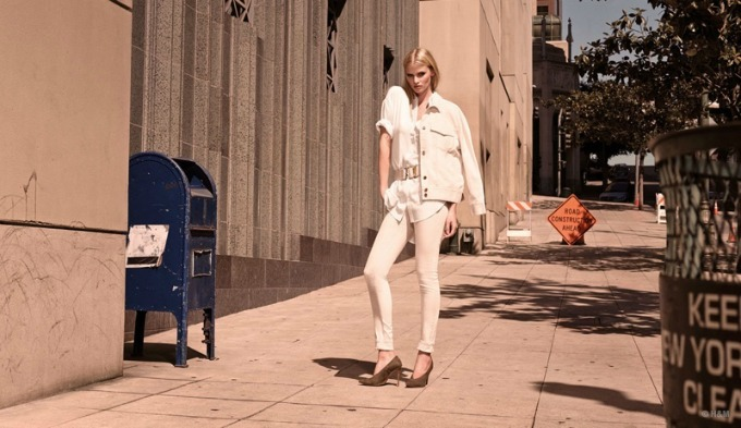 lara stoun u prolecnoj kampanji brenda hm 3 Lara Stoun u prolećnoj kampanji brenda H&M