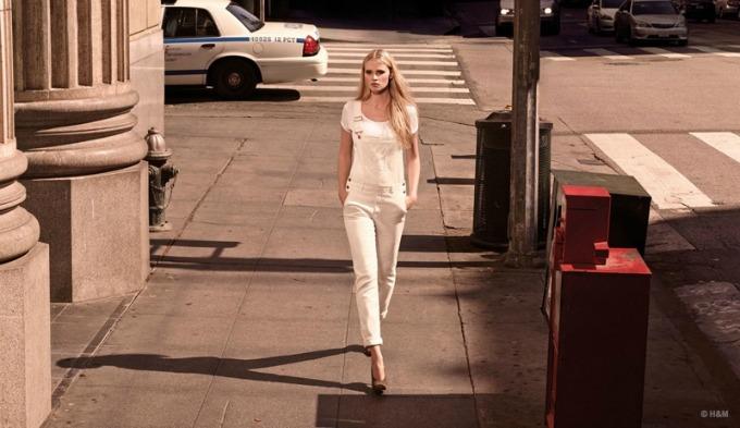 lara stoun u prolecnoj kampanji brenda hm 4 Lara Stoun u prolećnoj kampanji brenda H&M
