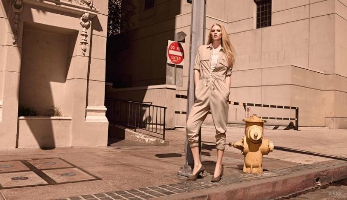 lara stoun u prolecnoj kampanji brenda hm 5 Lara Stoun u prolećnoj kampanji brenda H&M