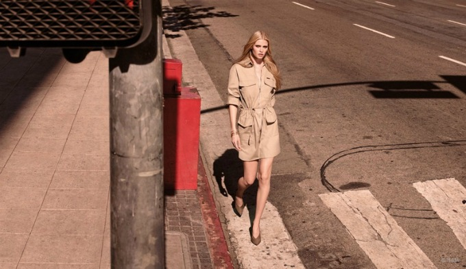 lara stoun u prolecnoj kampanji brenda hm 6 Lara Stoun u prolećnoj kampanji brenda H&M