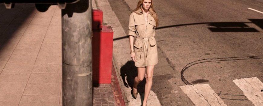 Lara Stoun u prolećnoj kampanji brenda H&M