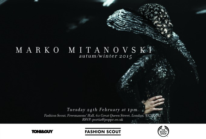 marko mitanovski na london fashion weeku 1 Marko Mitanovski na London Fashion Week u!