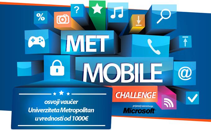 met mobile1 Univerzitet Metropolitan: Takmičenje Met mobile challenge 2015